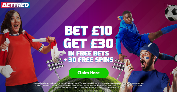 Betfred new customer offer bonus