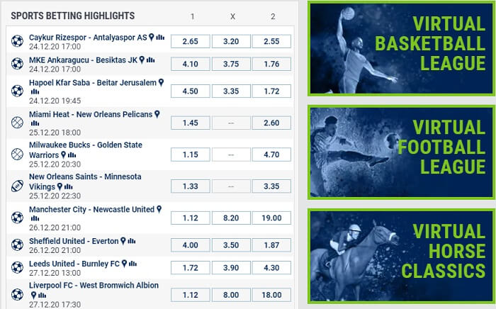 bet-at-home Sports Betting